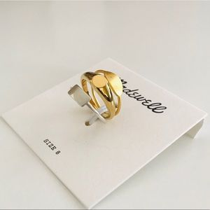 Madewell Signet Ring Set NWT - Size 8
